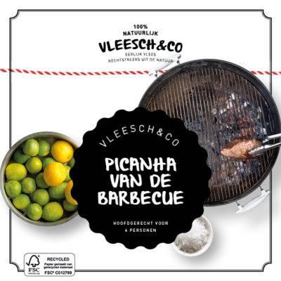 Vleesch&Co natuurvlees recept Picanha van de barbecue