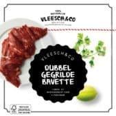 Vleesch&Co natuurvlees recept dubbel gegrilde bavette