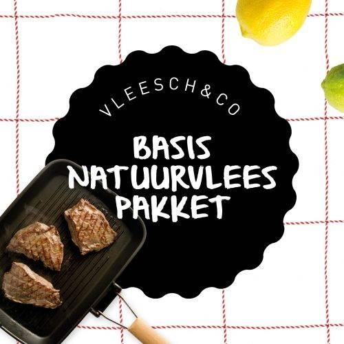 Vleesch&co basispakket grasgevoerd natuurvlees black angus schotse hooglander