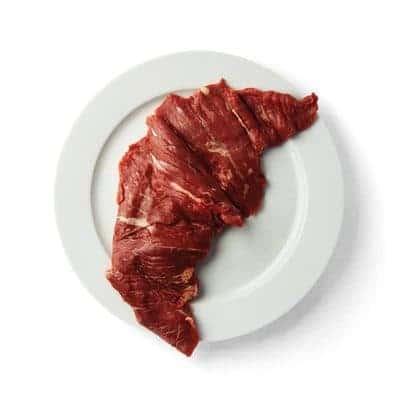 Vleesch & Co bavette heel