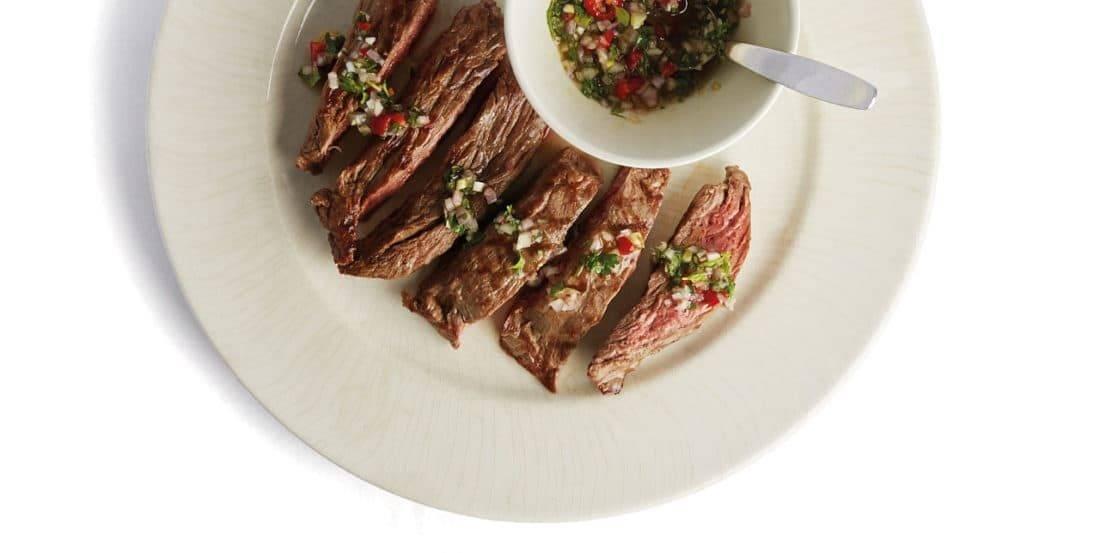 Vleesch&co perfecte steak bavette serveertip