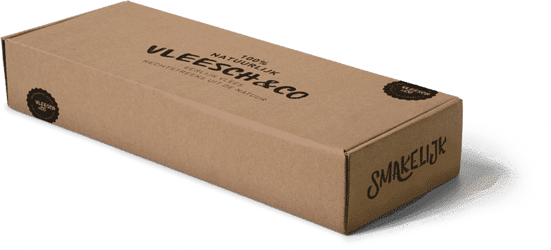 Vleesch&co natuurvlees verzenden pakket