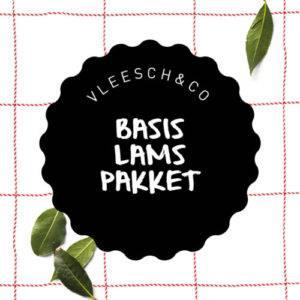 Vleesch&co basis pakket natuurvlees Schoonebeeker lamsvlees pakket heel lam