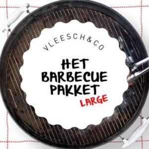 Vleesch&co barbecue pakket L