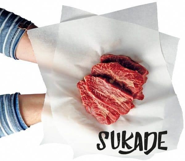 Sukadelappen natuurvlees