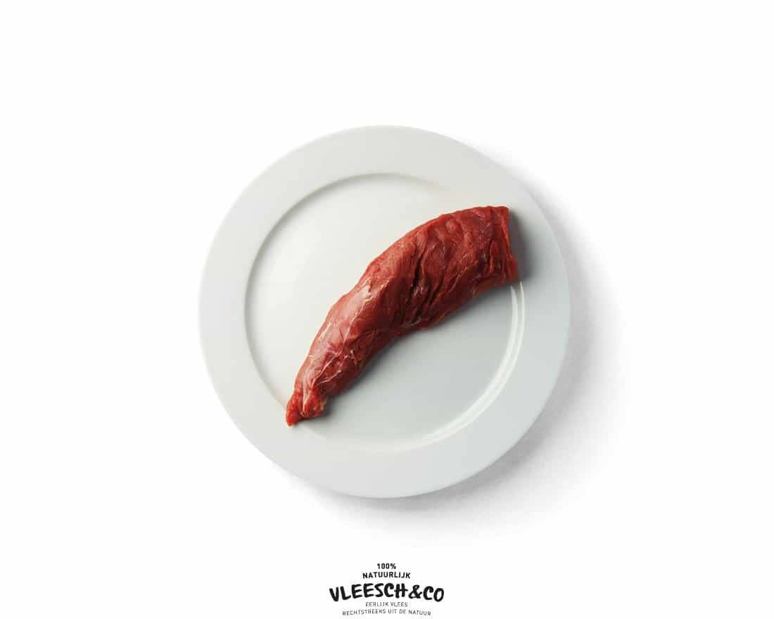 Vleesch&co ezeltje logo