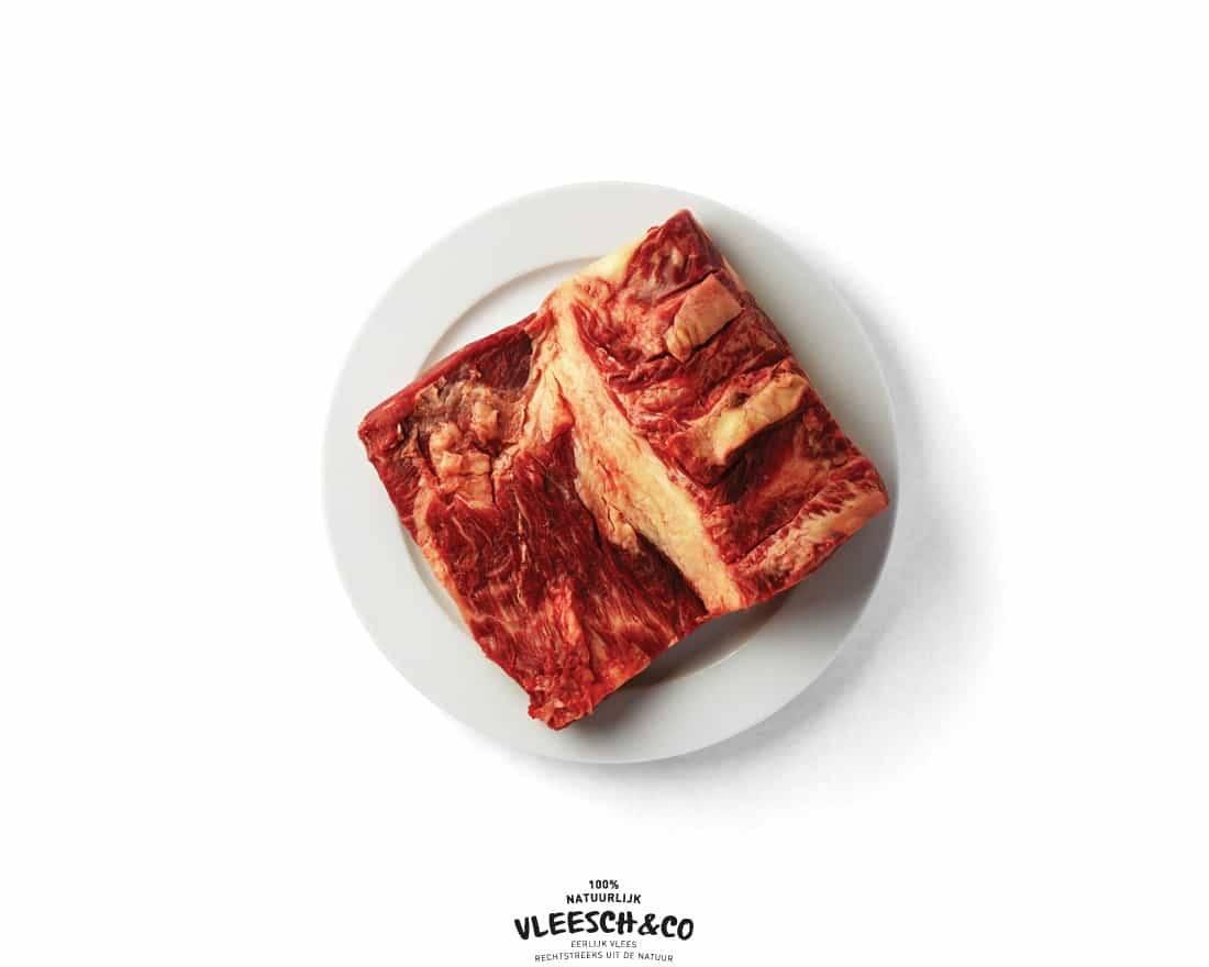 Vleesch&co Klapstuk logo