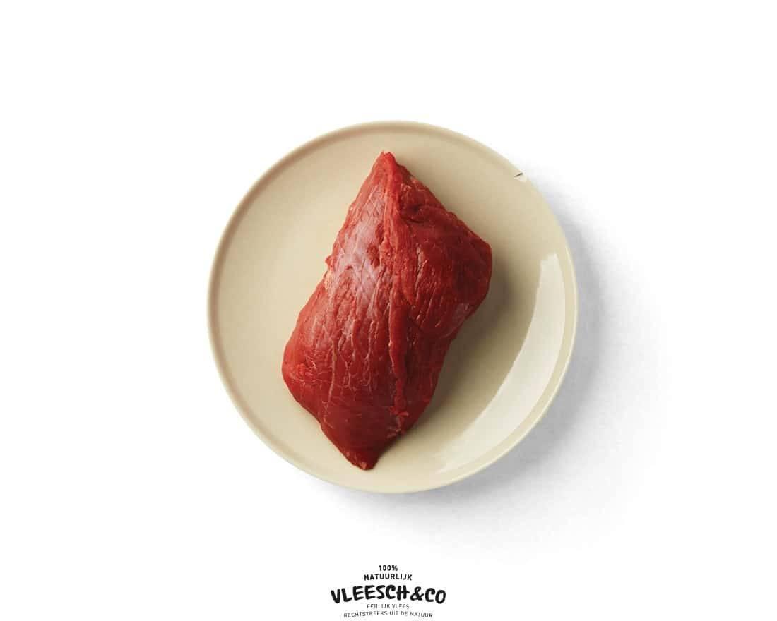 Vleesch&co kogelbiefstuk logo