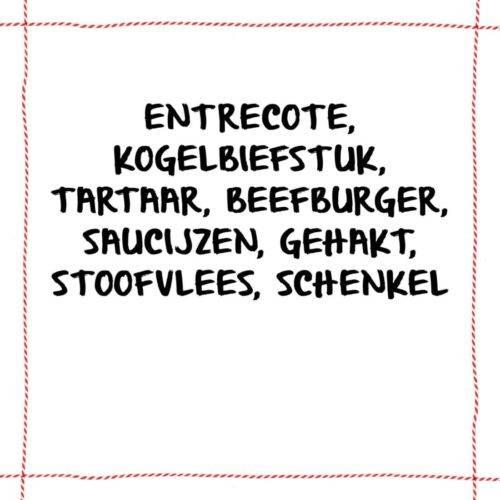 Vleesch&co Basispakket Hooglander