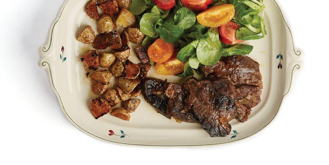 Vleesch&co Sukade stoofvlees serveertip