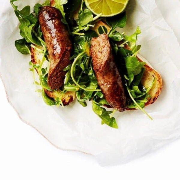 Vleesch&co hot dog
