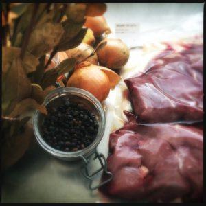 ingrediënten stoofvlees