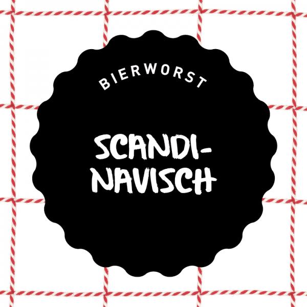 Vleeschenco bierworst Scandinavisch