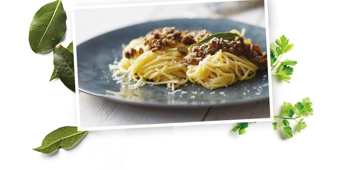 Vleeschenco ragu pasta
