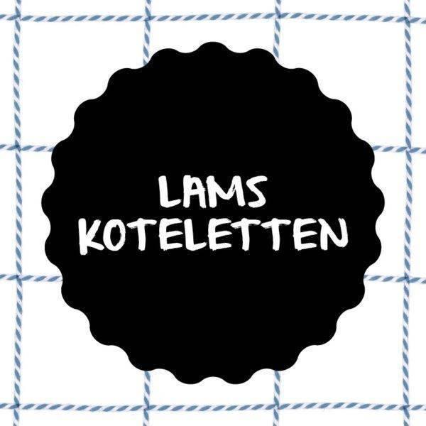 Vleesch&Co Lamskoteletten