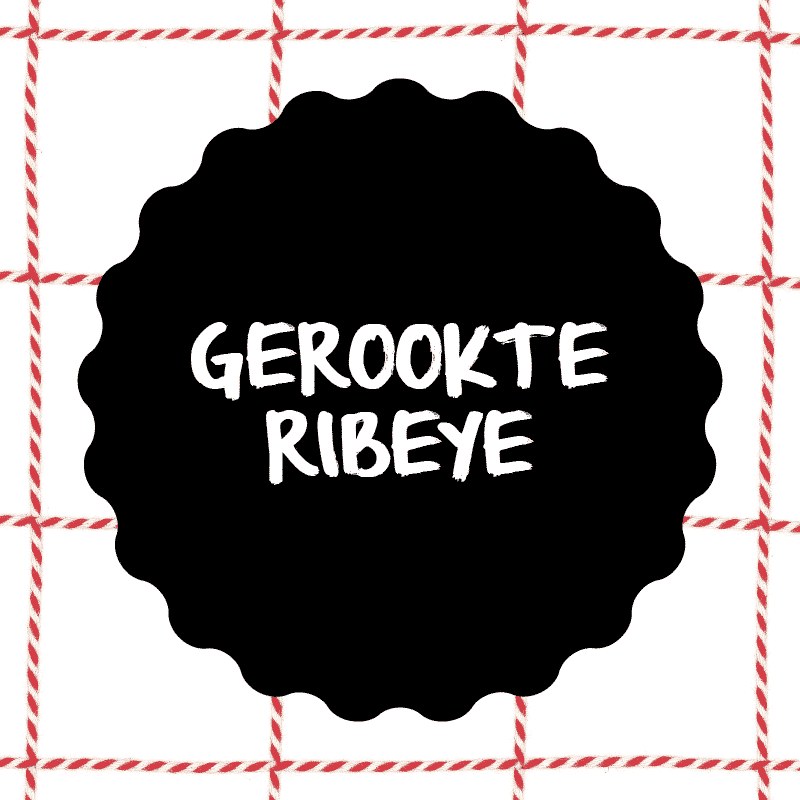 Vleesch&Co Gerookte Ribeye