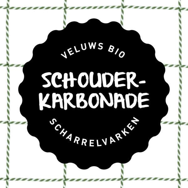 Vleesch&Co Schouderkarbonade Veluws scharrelvarken bio