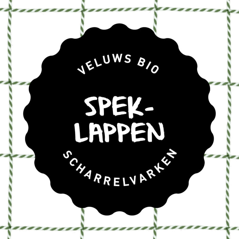 Vleesch&Co Speklappen Veluws scharrelvarken bio