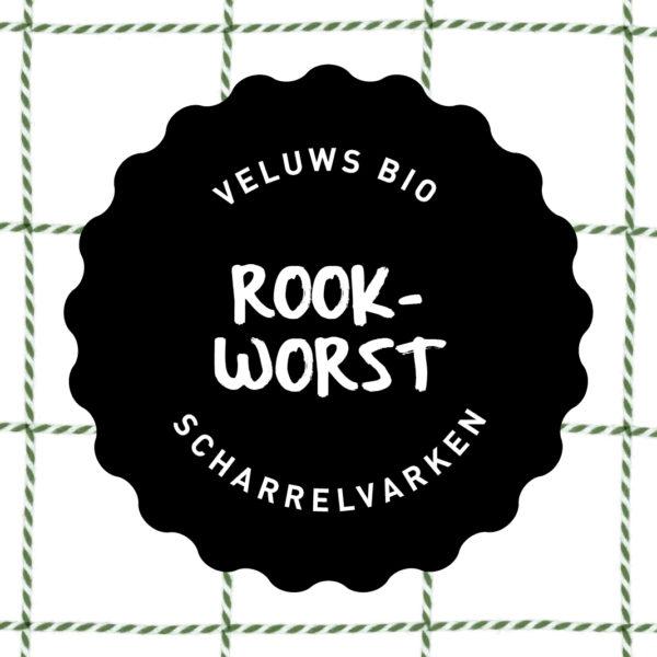 Vleesch&Co Rookworst Veluws scharrelvarken bio