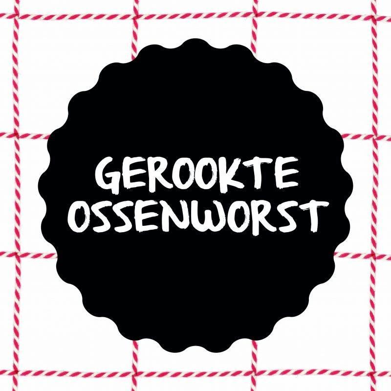Vleesch & Co gerookte ossenworst