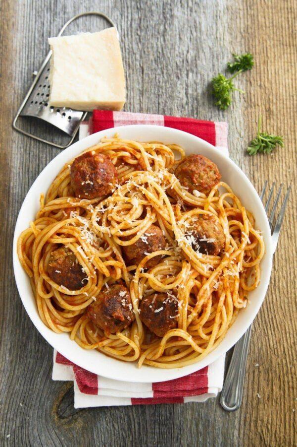 Vleesch&co_spaghetti polpettine