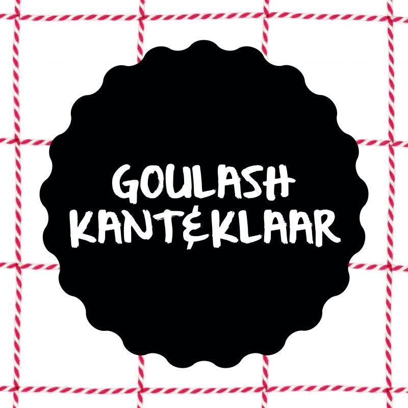 Vleesch&co Goulash kant & klaar