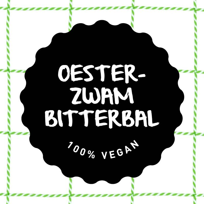 Vleesch&Co oesterzwam bitterbal