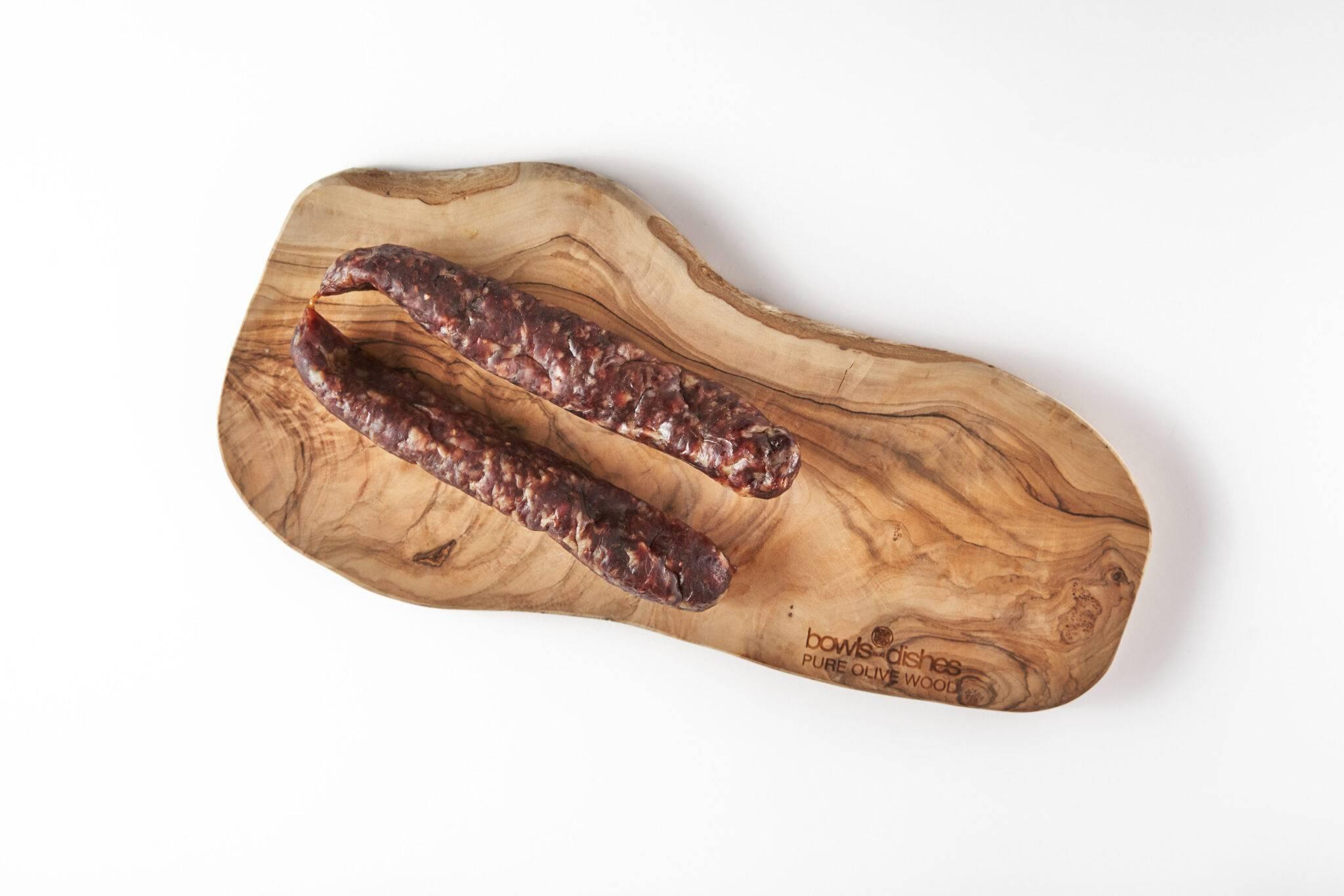 Vleesch & Co Droge worst knoflook