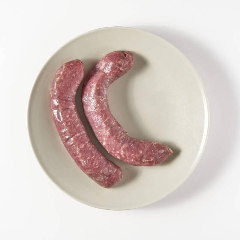 Vleesch & Co Saucijs witte wijn knoflook