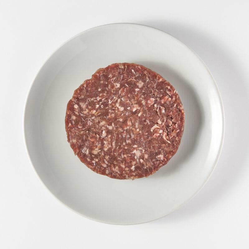 Vleesch & Co schotse hooglander burger XL