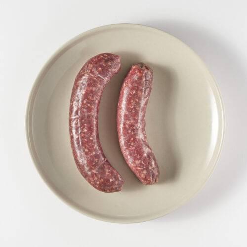 Vleesch & Co Saucijs mosterd ui