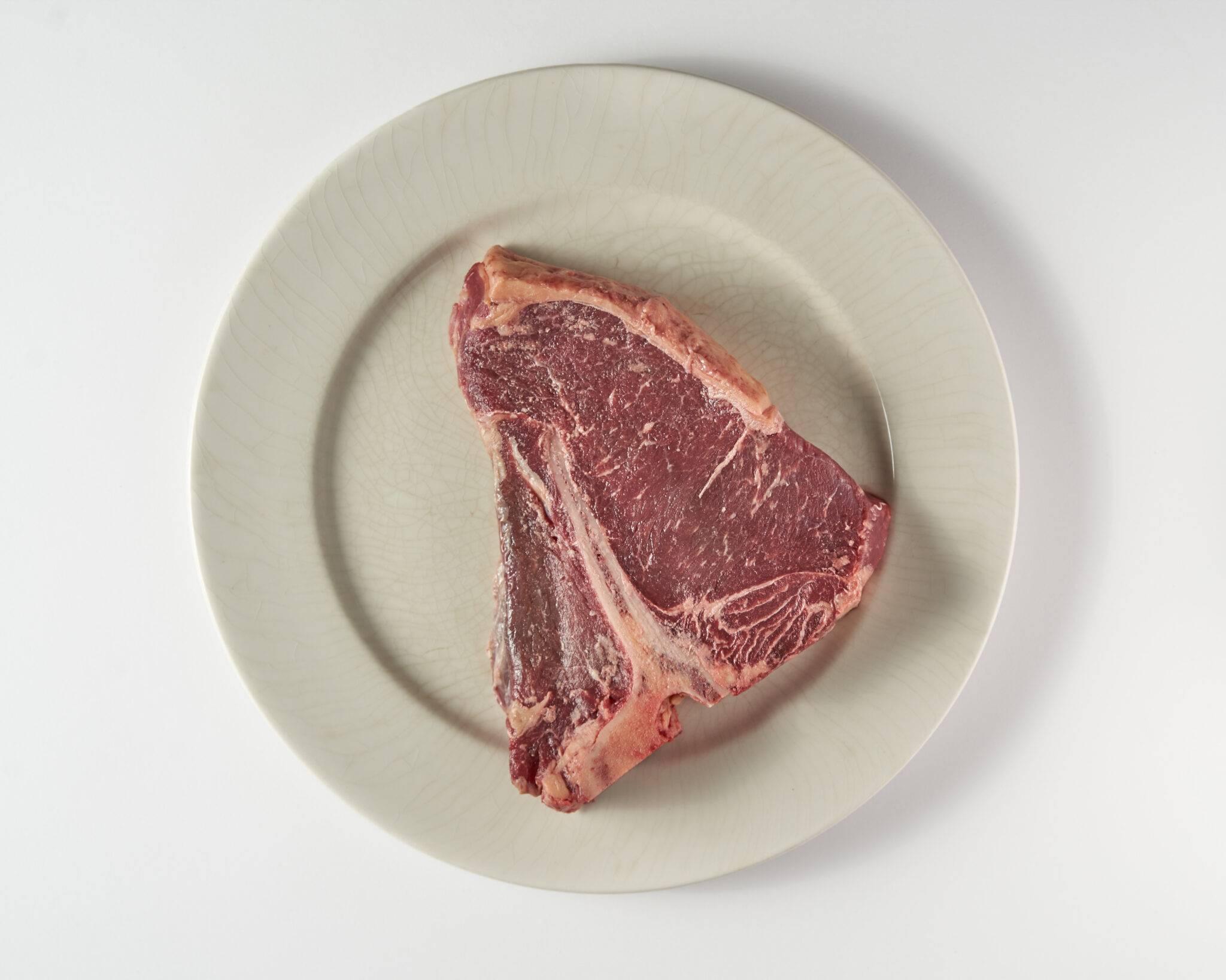 Vleesch & Co T-bone steak dry aged