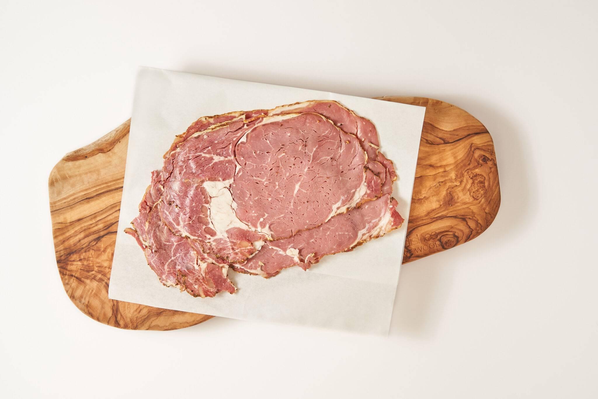 Vleesch & Co ambachtelijke pastrami