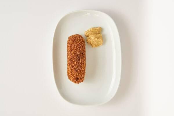 Vleesch & Co rundvleeskroket gefrituurd